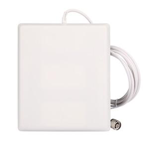 Image 2 - 700 2700Mhz GSM 2G 3G 4G LTE anten 10dBi kazanç kapalı Panel dahili anten 3m kablo için mobil/cep telefonu sinyal güçlendirici