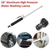 Verstelbare Auto Hoge Druk Power Washer Spray Water Lance Koperen Mondstuk Tuin Tool Universele Accessoires