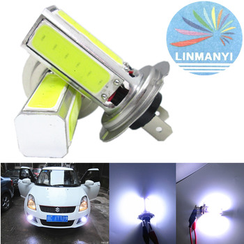 High Recommend 2pcs H7 9005 9006 H11/H8 for LED Headlight Bulbs Fog Light High/Low Beam 4000LM 6000K Super White 80W image