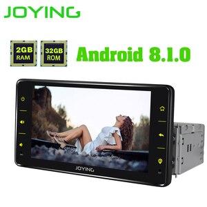 Image 3 - Joying ユニバーサル Android のカーラジオシングル 1 喧騒車のマルチメディアプレーヤー 6.2 インチ 2 グラム Ram ビデオヘッドユニット Carplay 無線 LAN Bluetooth DVR