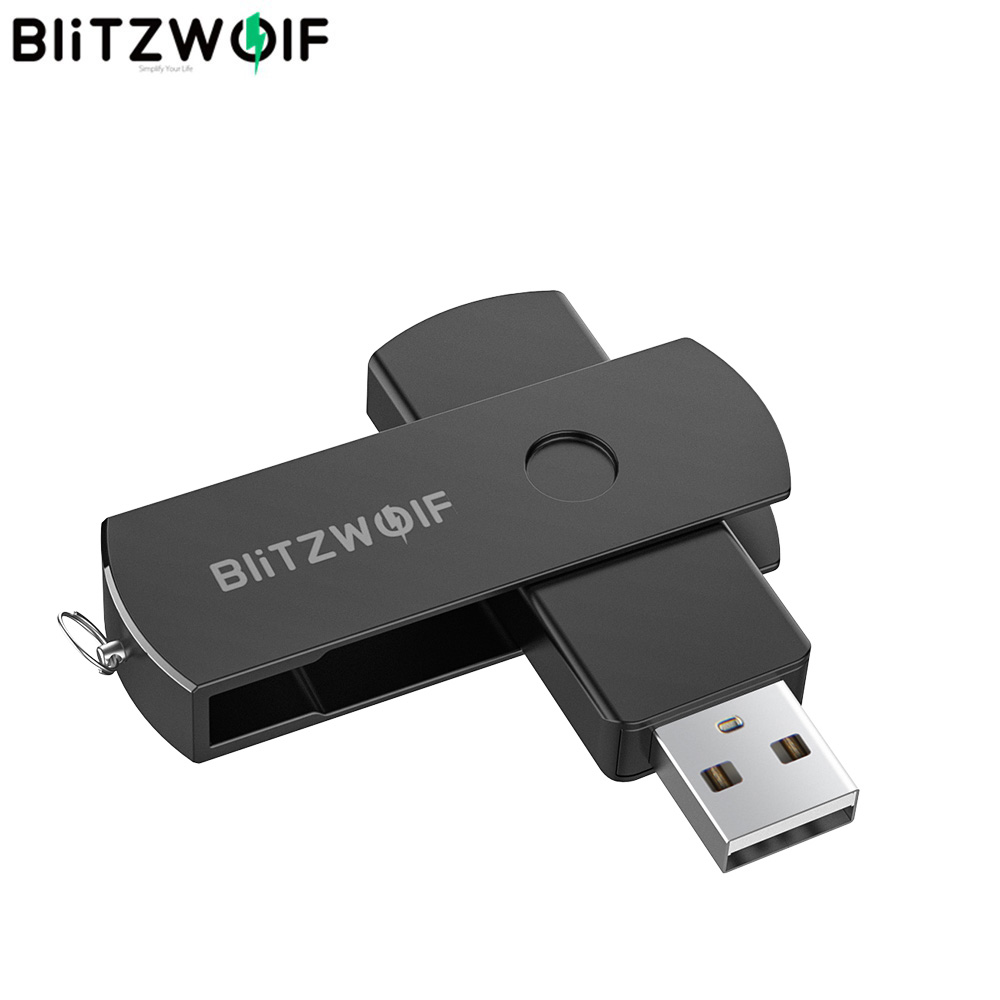 BlitzWolf BW-UP2 USB3.2 Gen 2 Flash Drive 64/128/256GB 360° Flash Drive Rotating Memory Disk - 64GB Storage USB Flash Drives