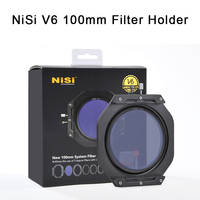 NiSi V6 100mm Filter Holder with Enhanced Landscape CPL and Adapter Ring Lens Cap Square Filters Holder for Canon Nikon Camera