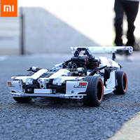 Xiaomi Mi Smart Building Block Highway Racing Educational Cars Toys Children Boys Girls 6Years Xiomi APP Remote Control Electric