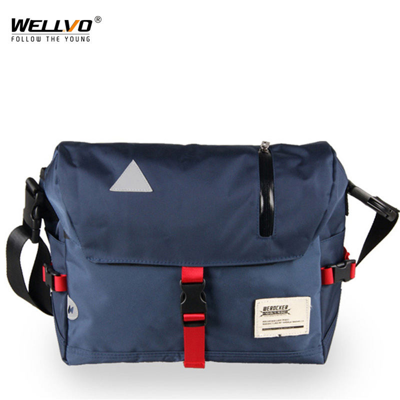 Men Crossbody Messenger Bags Oxford Waterproof Ridding Bag Sling Shoulder Travel Bag Large Mountain Bike Cycling Bag XA135ZC
