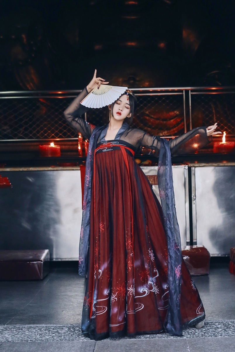 Skirt Autumn Ancient Costume Fairy Skirt Daily Ancient Chest Jacket Skirt Improvement Red Ru Skirt In National Customs Hanfu