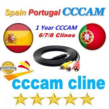 Europe Receptor Cccam lines for 1 year spain portugal used for DVB-S2 Ccams satellite receiver europe channels 6/7/8 lines nieuwkoop europe кашпо raindrop 54х51 см 6rdpbe229 nieuwkoop europe