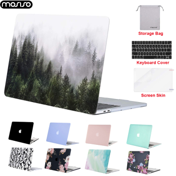 MOSISO for New Macbook Pro 16 inch 2019 Matte Laptop Case for Macbook Air 13 Pro 13 15 Touch Bar Notebook Hard Shell Case Cover mosiso new crystal matte laptop case for apple macbook pro 13 15 hard shell for new macbook pro 13 case cover a1708 a1706 a1990