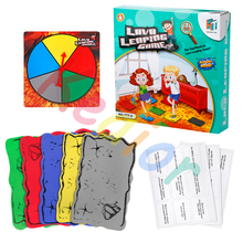 Прыжки карточная игра пол Лава семейная настольная игра пол карточная Поворотная карта интерактивная игра для детей и взрослых игрушки подарок