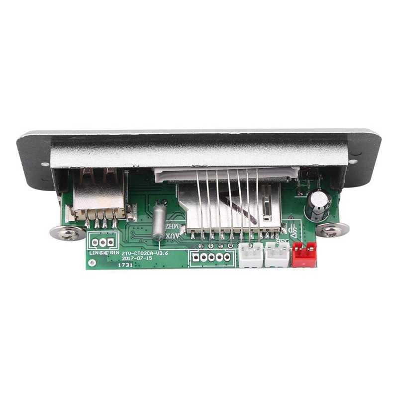 Dc 5 В Usb Tf Радио Беспроводной Mp3 плеер декодер доска аудио модуль красный цифровой светодиодный дисплей доска беспроводной с пультом дистанционного управления