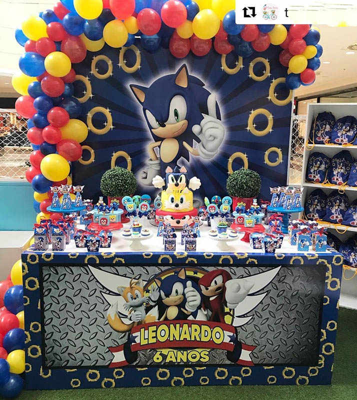 Sonic Ballonnen Sonic The Hedgehog Ballon Sonic Feestartikelen Baby Shower Bithday Party Decoraties
