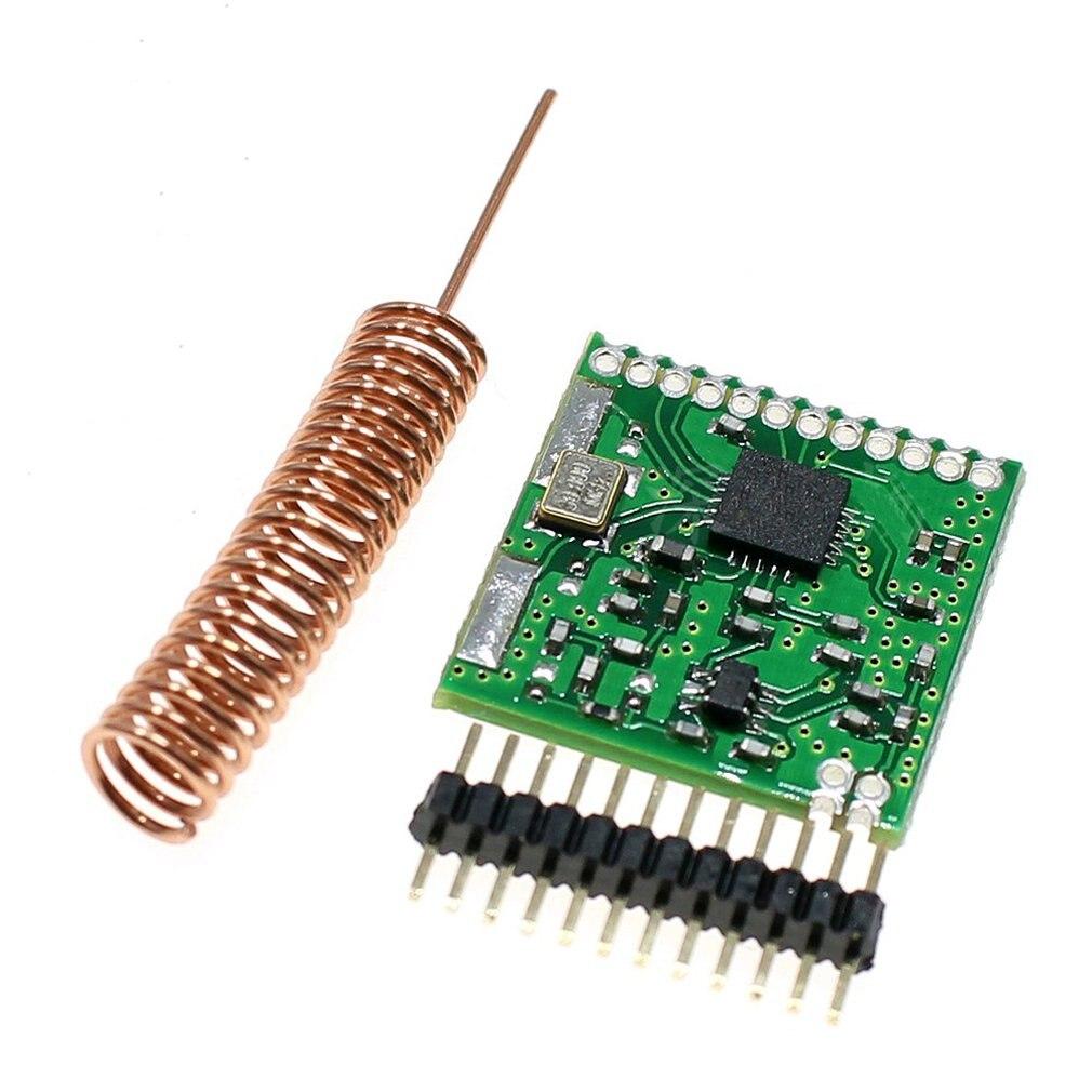Ultra-small SI4432 Wireless Module Long-range Wireless Module Wall-mounted Wireless Transceiver Module 1000 Meters