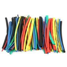 100Pcs Crosslinked Polyethylene 5 Size 5 Colors 100mm Heat Shrink Tube Wire Cable Insulated Sleeving