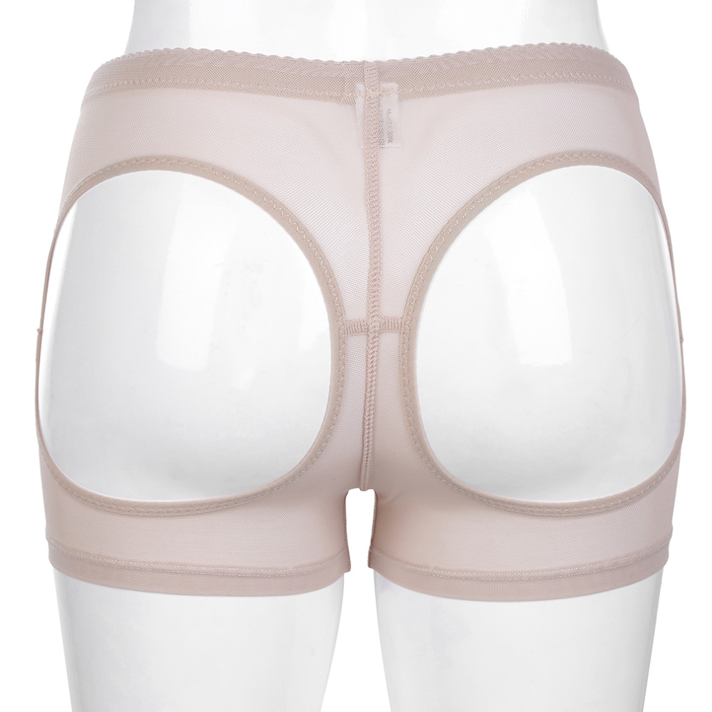 Women Invisible Mesh Butt Lifter Short Buttock Enhancer Bum Lift Booty Shaper Control Panties Shapewear Beauty Shape Body