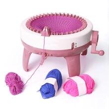 Agulha 40 diy grande máquina de tecelagem, tricô, ferramentas, leitor de costura, diy