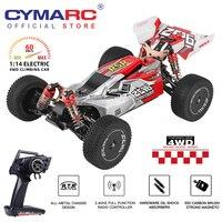 WLtoys 144001 2.4G Racing RC competizione auto 60 km/h telaio in metallo 4wd telecomando auto RC Formula auto telecomando giocattoli