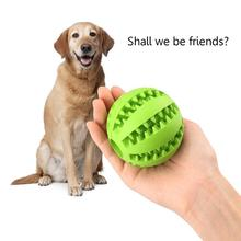 Pet Toy Interactive Rubber Balls Pet Dog Cat Puppy Elasticity Teeth Ball Dog Chew Toys Tooth Cleaning Balls Toys pet dog toys rubber ball random color pet dog cat puppy chew toys ball teeth chew toy tooth cleaning balls food products for pet