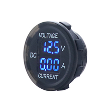 1 PC DC 5V to 48V 10A Digital Voltmeter Ammeter Voltage Current Meter Measurement LED Display for 12V 24V Electric Bike Moto