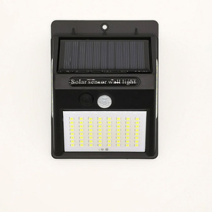 Image 2 - 100 LEDs PIR Motion Sensor Light LED Floodlight Wall Lamps Outdoor Lighting Garden Solar Lamp Security Porch Street Lights