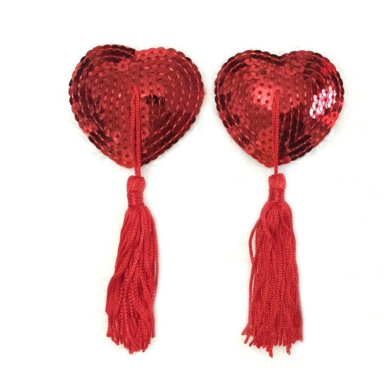 1 пара, сексуальный Стикини наклейки, женское белье, блестки, кисточка, бюстгальтер для груди, соска, покрытие в форме сердца, силиконовые