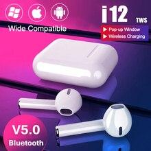 i9s i12 Tws Headphone Wireless Bluetooth 5.0 Earphone Mini Earbuds With Mic Char