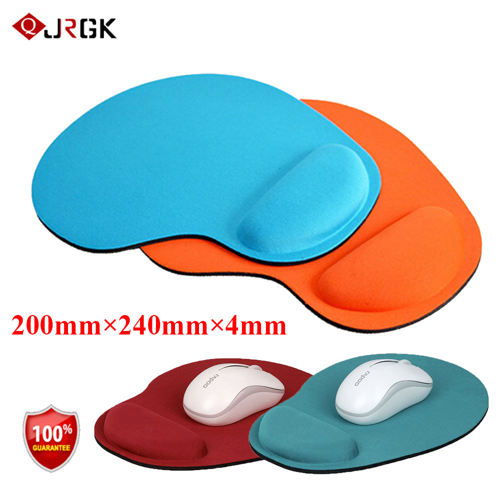 Mouse Pads Trackball PC Thicken Mouse Mat With Wrist Rest Mousepad Gamer Mice Mats Desktop PC Computer For CSGO Dota2 Lol