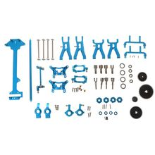 New 1 Set Upgrade Metal Spare Parts Kit for WLtoys A959 A979 A959B A979B 1/18 RC Car Accessories Wholesale Price wltoys a959 rc car spare parts tail holder