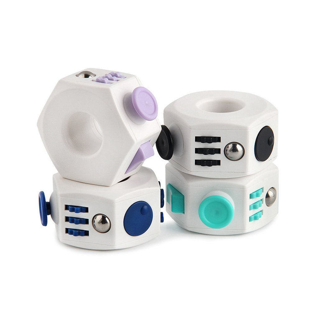 Decompression Ring Dice Toy Desktop Reversal Toy Decompression Magic Ring Creative Decompression Toy