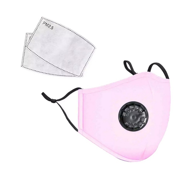 Reusable Washable Breathable Face Mask Cycling Running Facemask Anti Dust Windproof Air Purifying Face Mask with Filter 3
