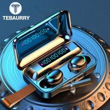 TWS Touch Bluetooth 5.0 Wireless Earphones Protable Sport Stereo Headphones Wire