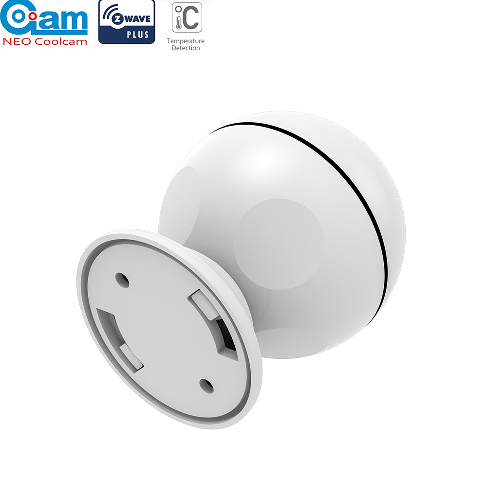 NEO COOLCAM Z-WAVE PLUS NAS-PD01Z Mini PIR Motion Sensor,Battery Operated,Smart Home Automation EU Version:868.4MHz