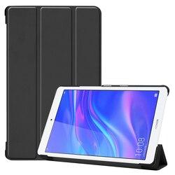 Чехол для Huawei MediaPad M5 Lite 8,0 JDN2-AL00/W09 планшет Funda тонкий Складные Магнитные Флип Стенд кожаный чехол из искусственной кожи (полиуретан) M5 8 Lite