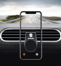 En métal support de téléphone magnétique pour voiture pour SUZUKI swift vitara jimny samouraï grand vitara sx4 alto v strom 650