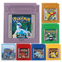 Poke Series Classic Collect Colorful Version Video Game Cartridge Console Card English/Spanish Language For Nintendo GBC 1