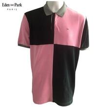 New summer polo shirt Park men short sleeve polos shirts Solid color slim fit Loose mens clothes Eden dress poloshirt