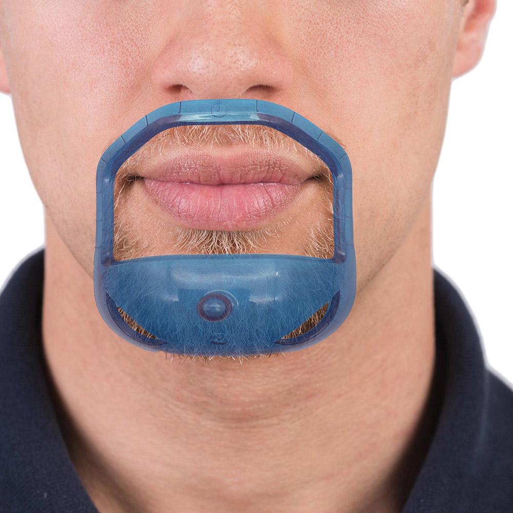 5 Pcs Men Mustache Shaper Styling Template Goatee Beard Guide Stencil Shaving Design Tool HS11  2019 New