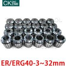 Er40 erg40 3 мм 32 пружинная Цанга Зажимной патрон зажимные