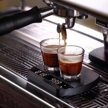 פליסיטה קשת קפה בקנה מידה עם Bluetooth דיגיטלי בקנה מידה אספרסו קפה אלקטרוני טפטוף קפה בקנה מידה עם טיימר