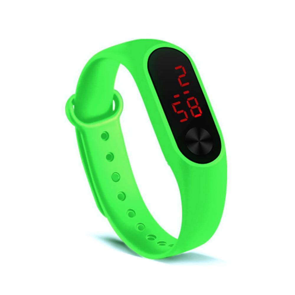 Children's Watches Kids LED Digital Sport Watch for Boys Girls Men Women Electronic Silicone Bracelet Wrist Watch