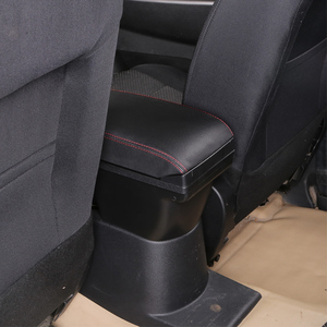 Image 5 - for Infiniti ESQ armrest box universal car center console caja  modification accessories double raised with USB No installation