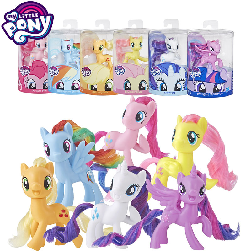 Original My Little Pony Toy Anime Figure Doll Toys for Girls PVC Action Figure Baby Toy Doll Accessories Toys Girls Birthday