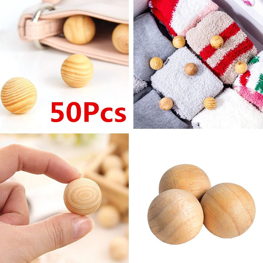 Eco Friendly Wooden Mosquito Insect Repellent Killer Drawer Remove Mildew Household Wardrobe Camphor Fume Wood Cedar Moth Balls(China)