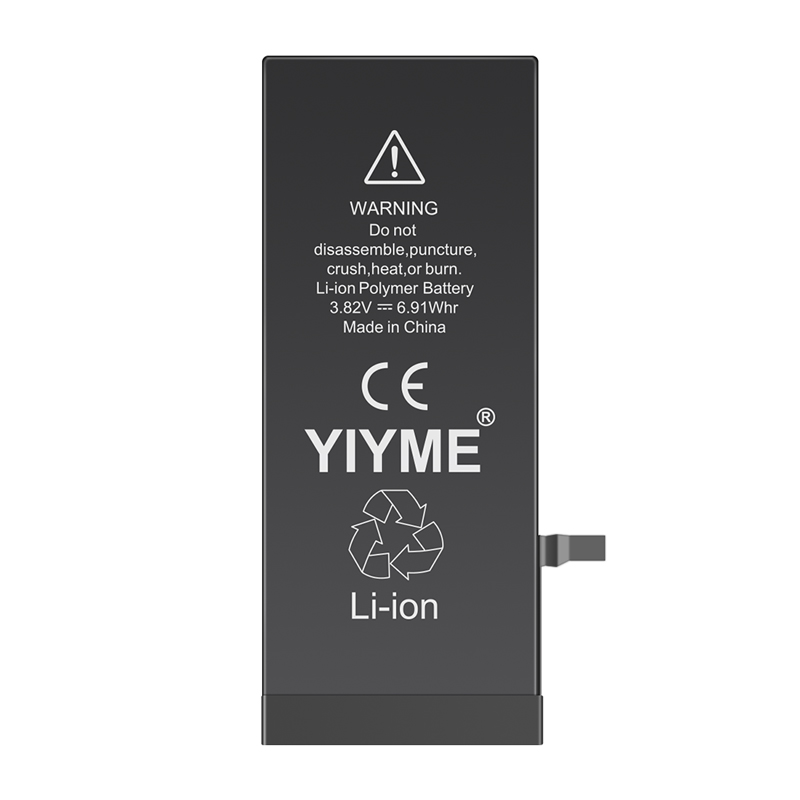 YIYME OEM Replacement Phone Parts for iPhone 6 7 8 7plus 8plus Battery Original Capacity in Mobile Phone Batteries from Cellphones Telecommunications