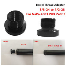 Auto Single Core Auto Brandstof Filter Solvent Val Draad Adapter Convert 5/8-24 1/2-28 Voor Napa 4003 Wix 24003(China)