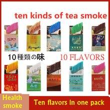 New Arrival Flavor Herbal Tea Smoke Women Men Healthy Cigarettes No Nicotine Tobacco