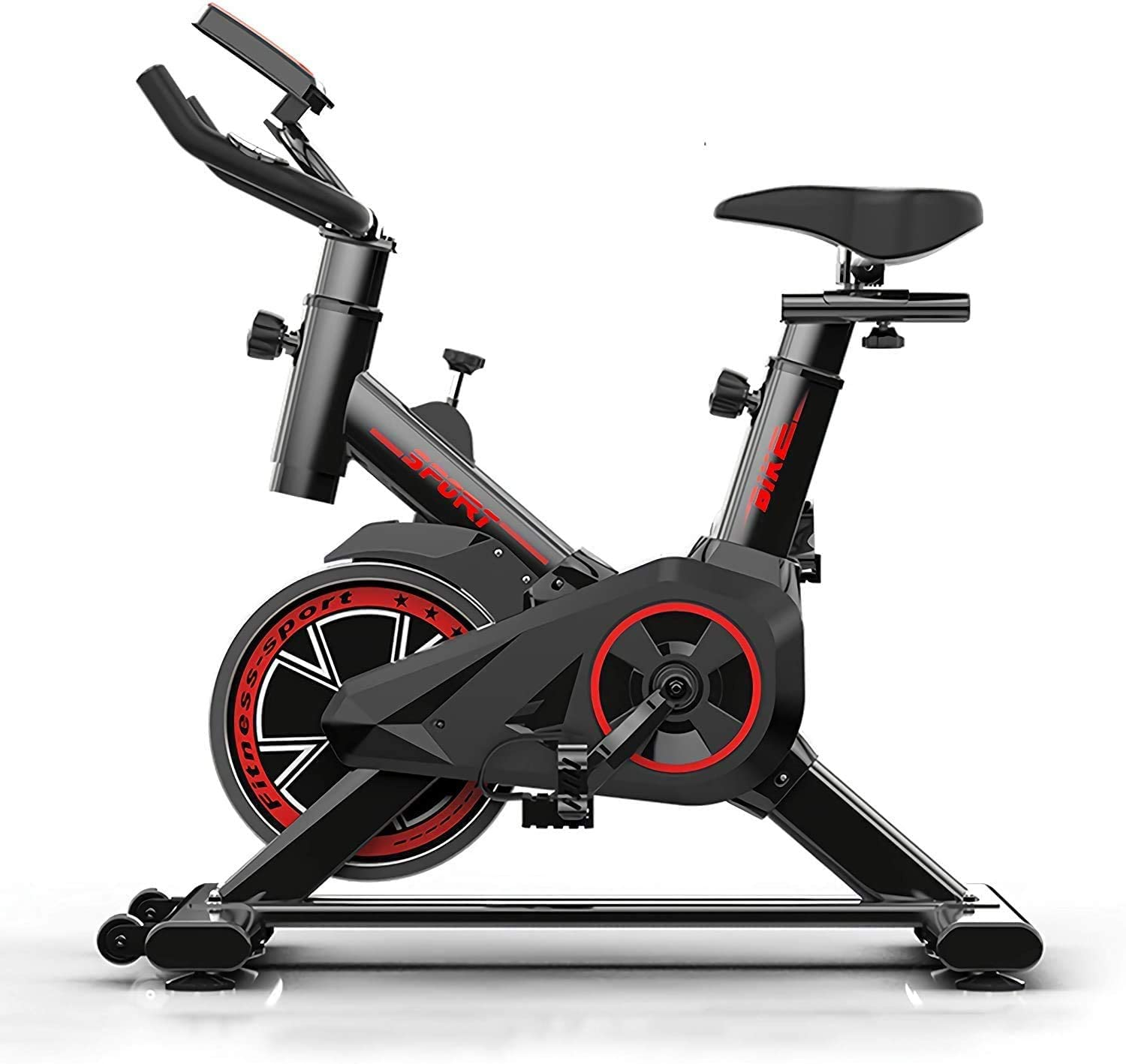 Ultra-quiet Indoor Sports Fitness Equipment Home Exercise Bike High Quality Indoor Cycling Bikes Load Spinning Bicycle Exerciser