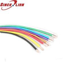 Cable de Montaje 5m UL1015 10AWG OD 5,1mm cable electrónico Ambiental interno cableado 5 colores seleccionables 600V 105 grados