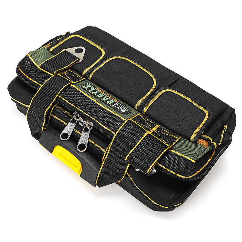 Electrician Heavy Tool Bag Duty Tool Holder Tool Bag Storage Case Carrier  Plastic Bottom Tools Parts Box