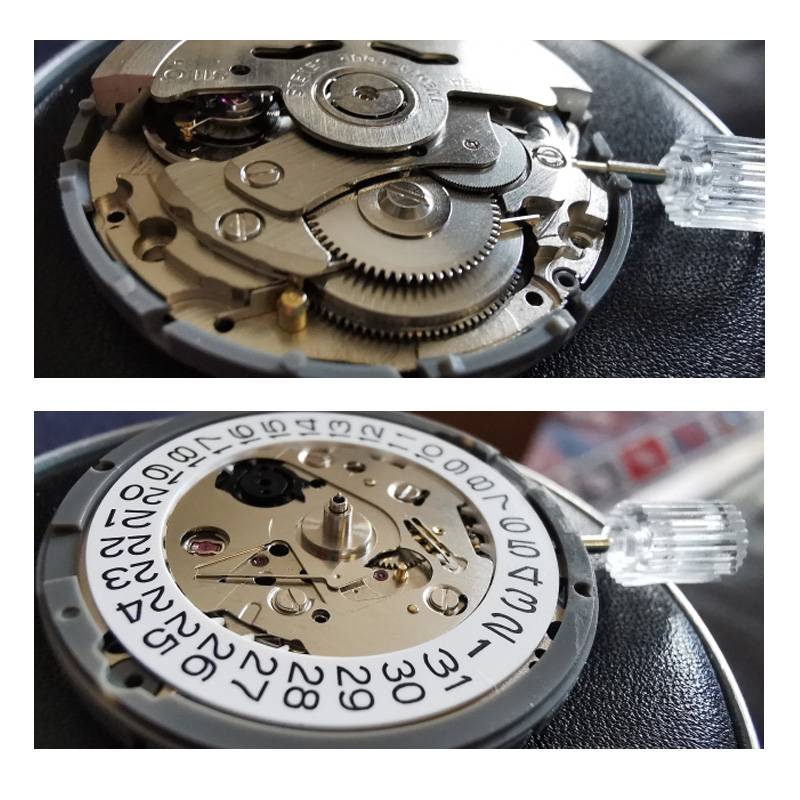 Seiko NH35 Automatic Watch Movement Brand Timepieces Parts Mechanical Watch Movement NH36 Movement Watch Replace Accessories 6