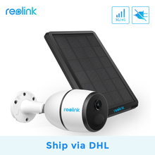 [Ship via DHL]Reolink 4G LTE camera GO 1080p work with SIM card weatherproof Rechargeable Battery Powered ip camera