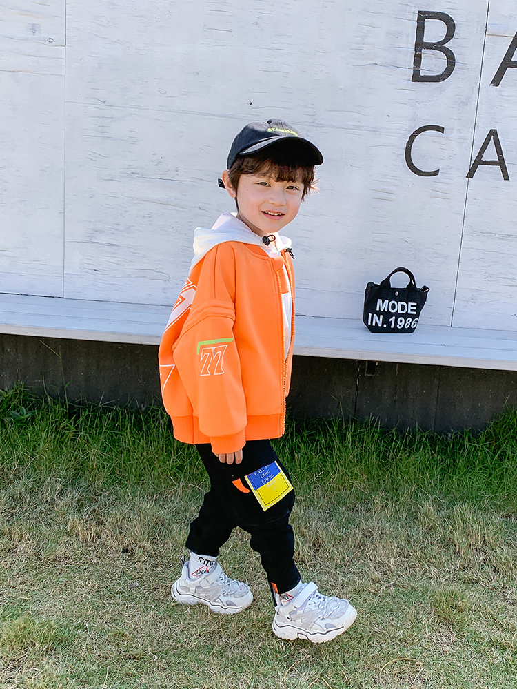 Children Overalls Boys Spring and Autumn Korean Children's Clothing Baby 2021 New Western Style Casual Pants Boy Spring Pants 4